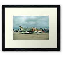 McDonnell F-4G Phantom II 69-0253/SP Wild Weasel V Framed Print