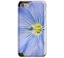beautifull small blue flower iPhone Case/Skin