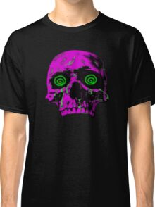 Pixel Art skull Classic T-Shirt