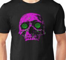 Pixel Art skull Unisex T-Shirt