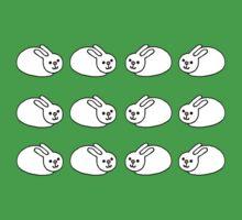 Happy Bunnies One Piece - Short Sleeve