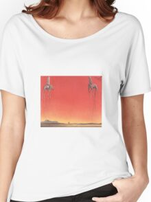 The Elephants by Dali  Women's Relaxed Fit T-Shirt