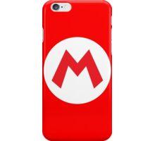Original Mario Emblem iPhone Case/Skin