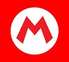 Original Mario Emblem by deepfriedbacon