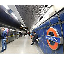 London Bridge's Underground Photographic Print