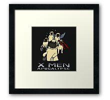 X Men: Apugalypse Framed Print