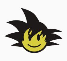 Goku Smiley One Piece - Short Sleeve