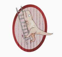 T-rex can't climb a ladder Kids Clothes