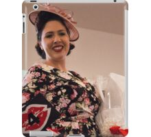 Gemma Sheree Takes 1st Place in Fashions on the Field iPad Case/Skin