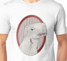 T-rex can't use a phone Unisex T-Shirt