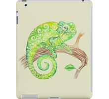 Swirly Chameleon iPad Case/Skin