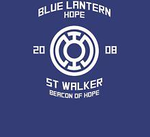 Blue Lantern - Boxing Style - White Unisex T-Shirt