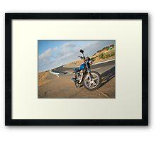 CB250T Cafe Racer Framed Print