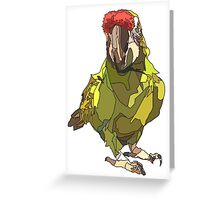Poly wants a cracker! Greeting Card