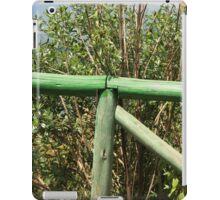 Green Fence iPad Case/Skin
