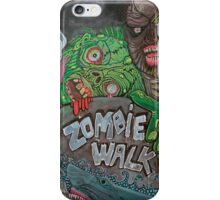 Zombie Walk iPhone Case/Skin