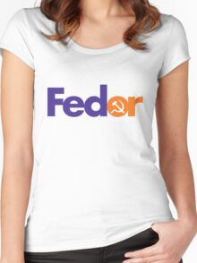 FEDOR Women's Fitted Scoop T-Shirt