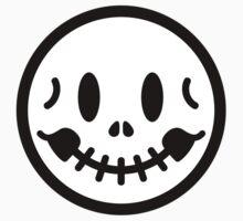 Smiley Skull Kids Tee