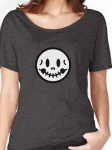 Smiley Skull Women's Relaxed Fit T-Shirt