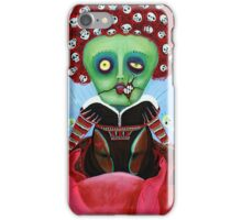 Iracebeth of Crims - Red Queen - A Warm Pig Belly iPhone Case/Skin