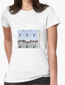 Golconda by Magritte  Womens Fitted T-Shirt