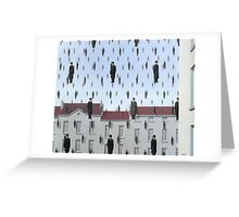Golconda by Magritte  Greeting Card