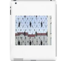 Golconda by Magritte  iPad Case/Skin