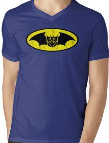 Bat-cepticon Mens V-Neck T-Shirt