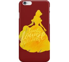 Beauty is found within iPhone Case/Skin