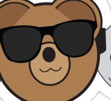 Teddy Bear And Friends Sticker