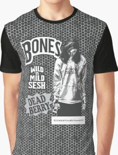 Bones Backwoods Dead Berry Black (TeamSESH Sesh) Graphic T-Shirt