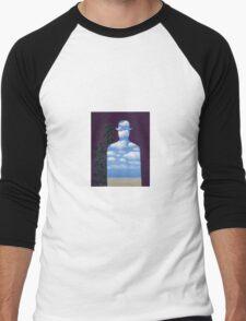 High Society by Magritte  Men's Baseball ¾ T-Shirt