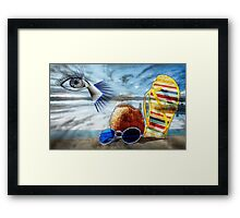 Vacation Problems Framed Print