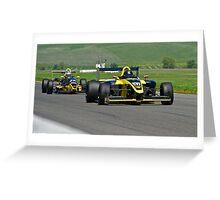 Formula Straightaway I Greeting Card