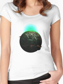 Space - No Man Sky Women's Fitted Scoop T-Shirt
