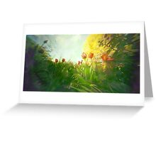 In Spring    by Denise Sallee Greeting Card