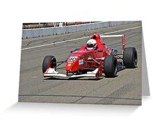 Formula Straightaway III Greeting Card