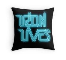 TRON LIVES Uprising version Throw Pillow