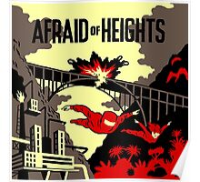 BILLY TALENT AFFRAID HEIGHTS JUMP Poster