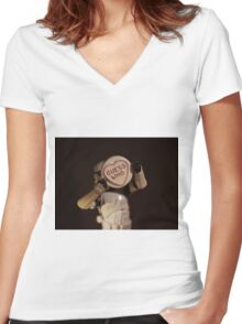 Guess Who??? Women's Fitted V-Neck T-Shirt