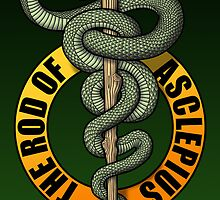 Rod of Asclepius by kuuma