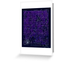 USGS TOPO Map Alabama AL Russellville 304987 1936 24000 Inverted Greeting Card