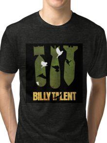BILLY TALENT THREE NUCLEAR Tri-blend T-Shirt