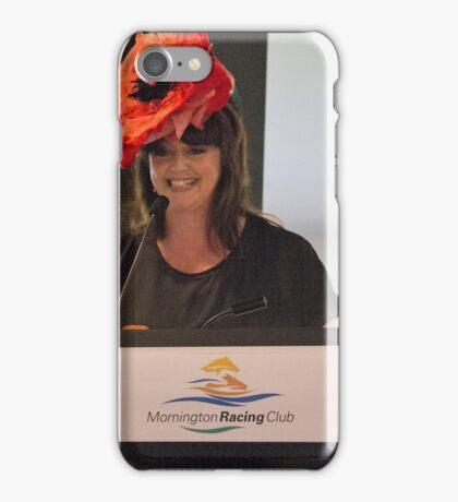 Do I hear $100? Annette Sanfilippo enchants the bidders iPhone Case/Skin