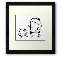 Sheldon & Frankie Framed Print