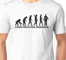 Evolution construction manager Unisex T-Shirt