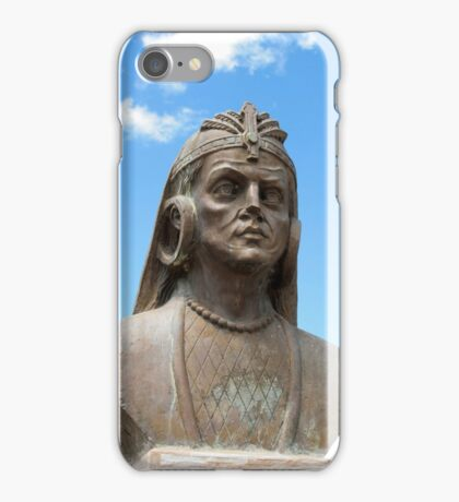 Statue of a Warrior iPhone Case/Skin