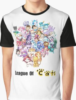 League Of Cats <3 Graphic T-Shirt