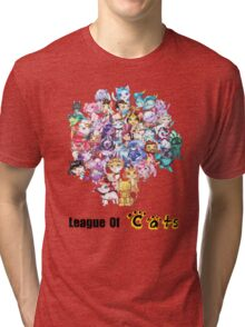 League Of Cats <3 Tri-blend T-Shirt