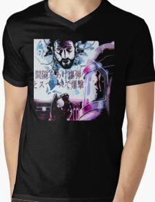 Bombed out in space with a spaced-out bomb ! Mens V-Neck T-Shirt